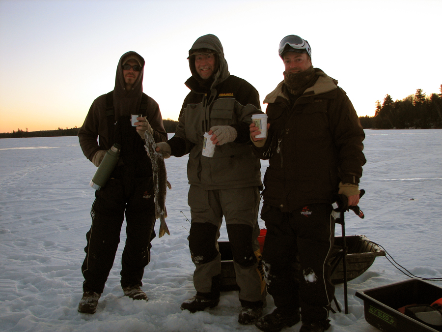 Tea party on the ice :)