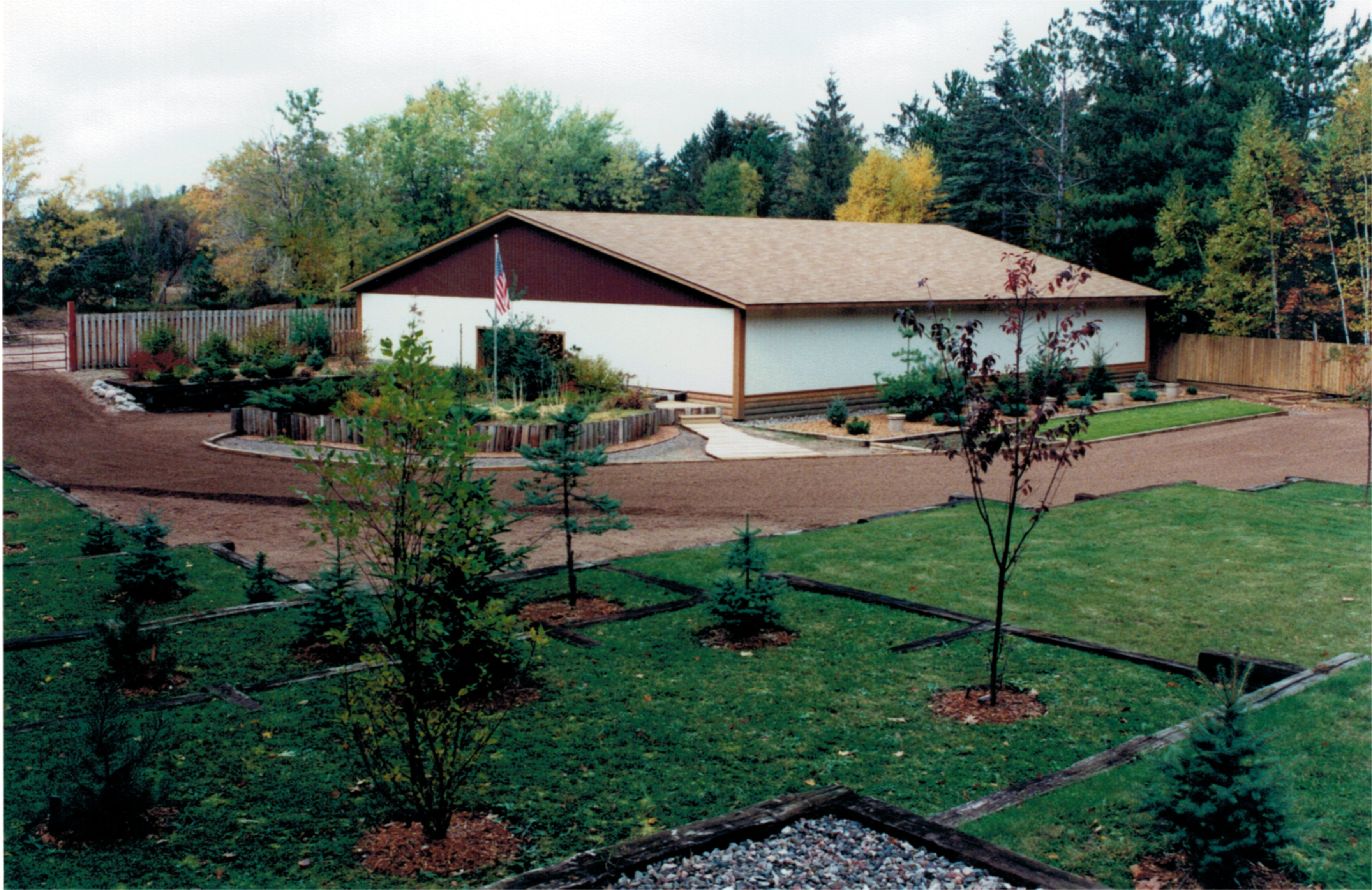The Rec Building as it looked in the 1990's