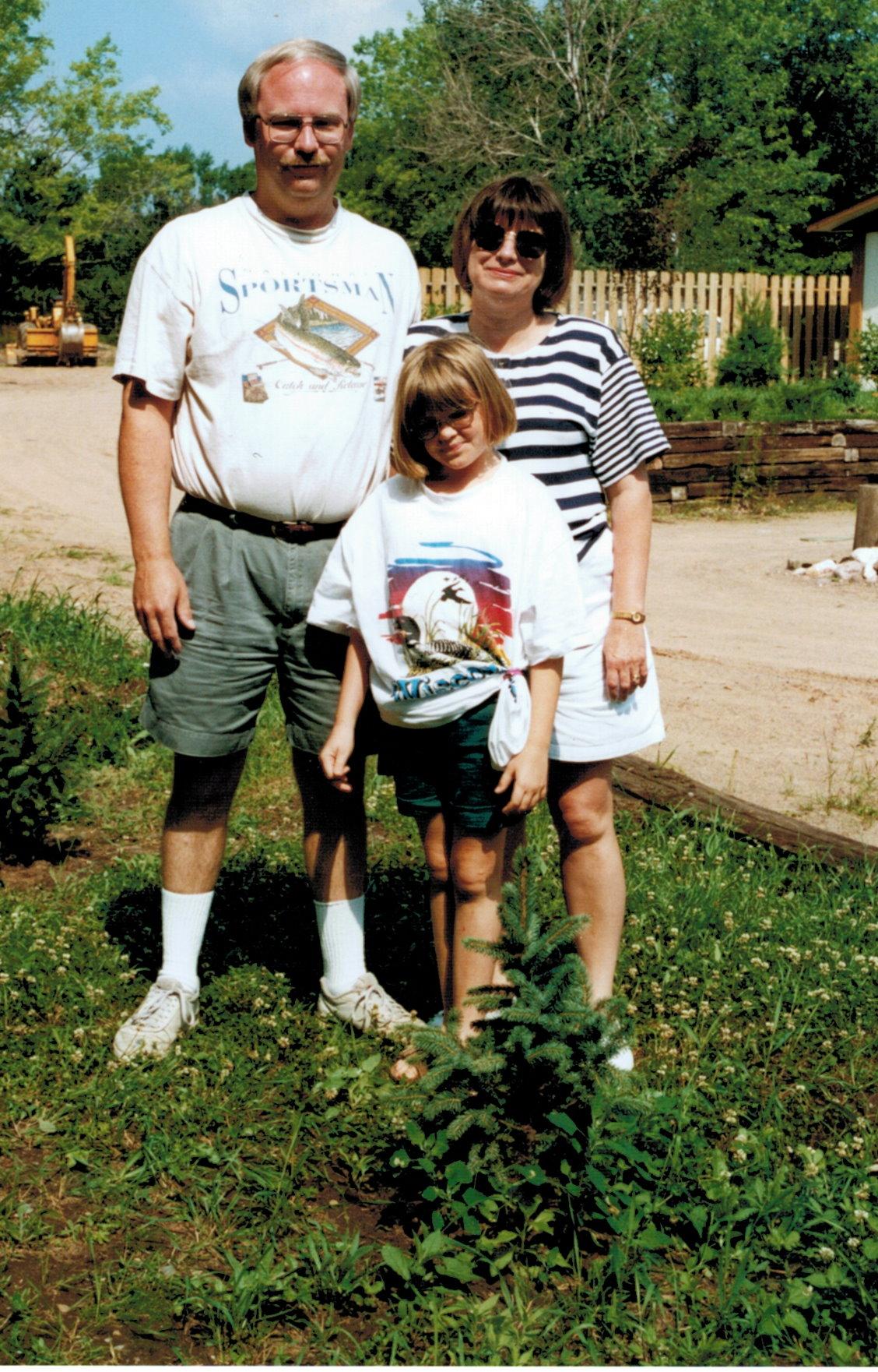 Mike, Betty and Amanda's tree