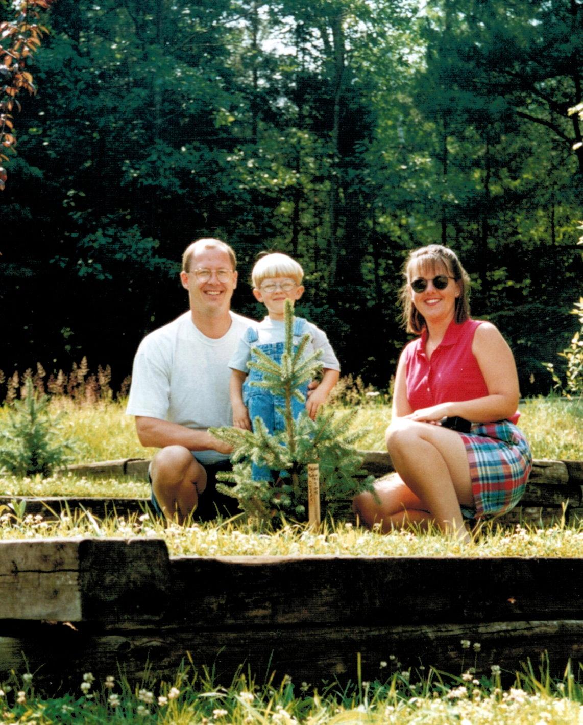 Bryan, Robin and BJ's tree