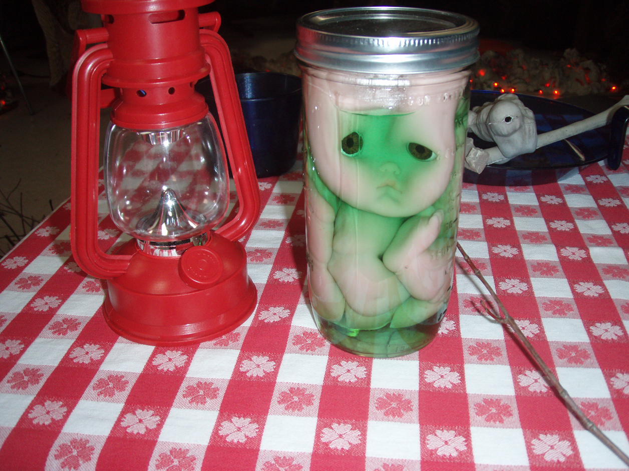 Pickled baby  Yum! Yum!
