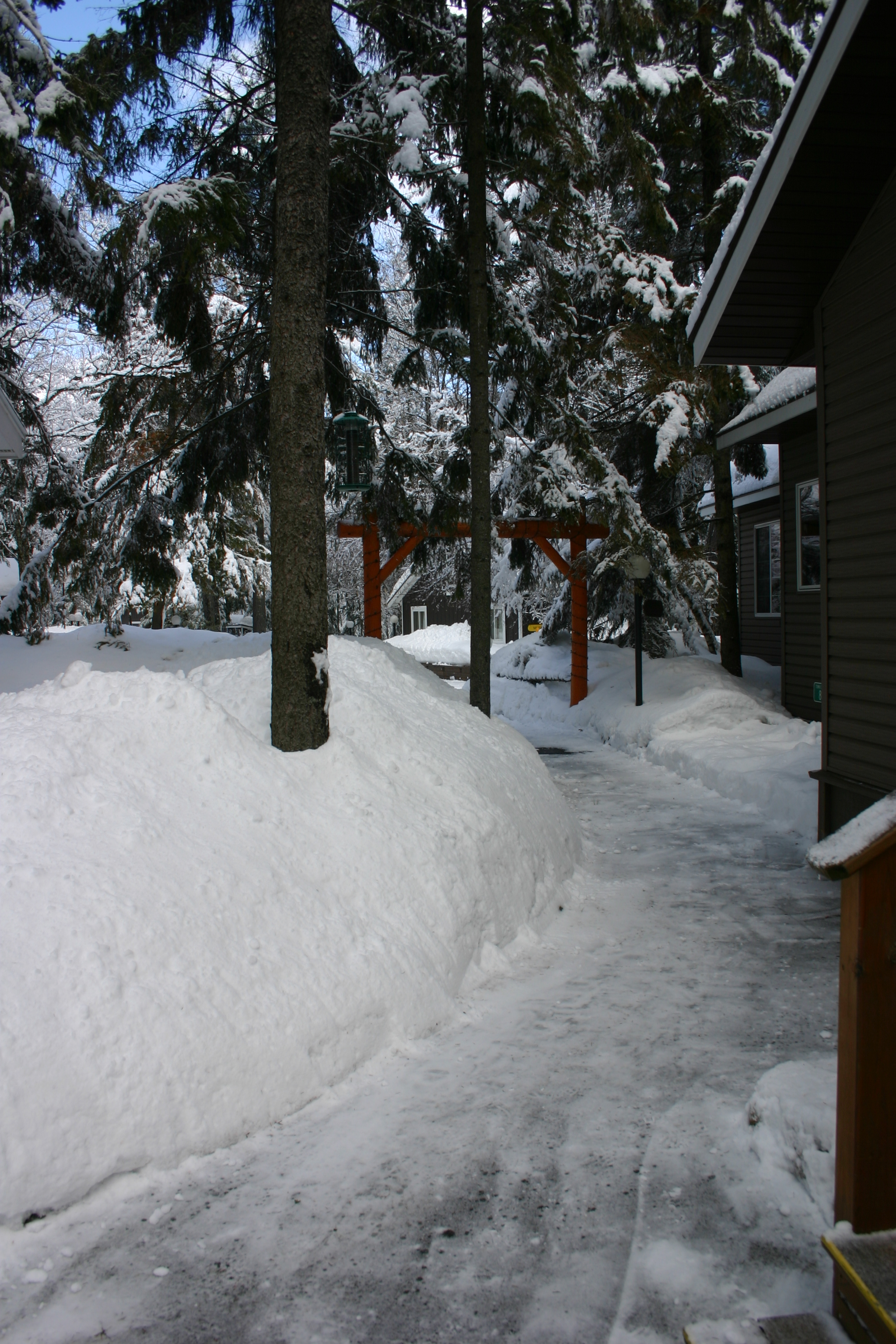 Path to the front entrance.